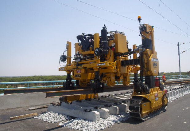 Portal cranes from Aries Rail