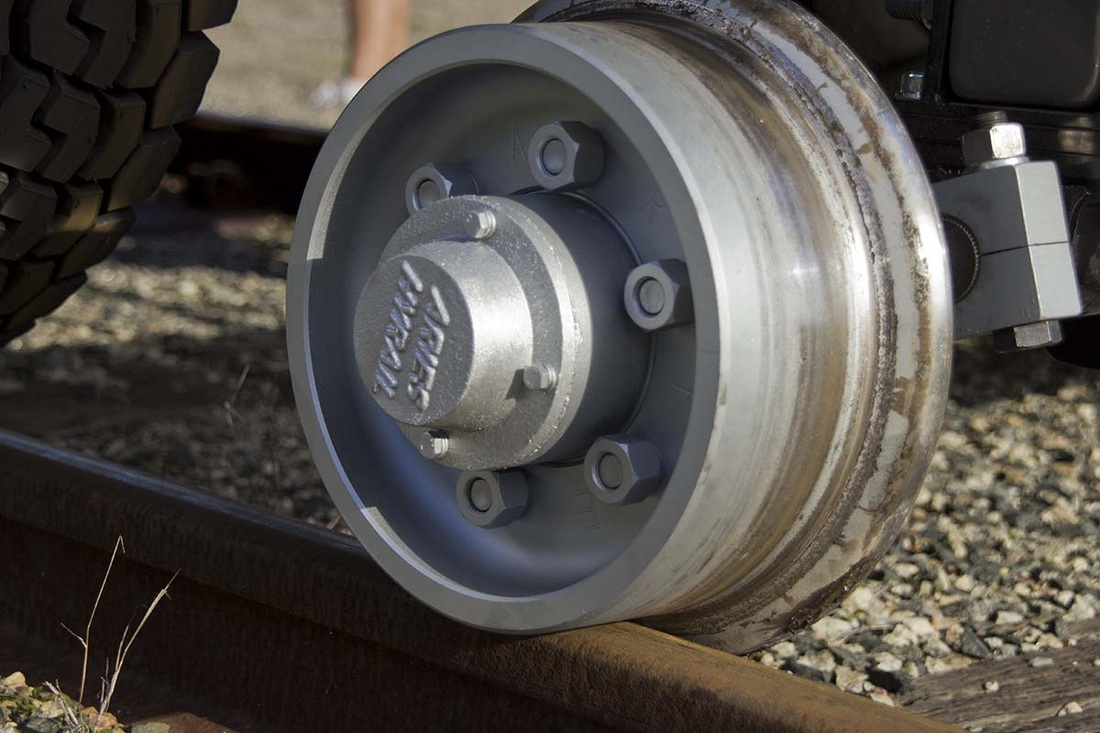 Aries Hyrail rail wheels
