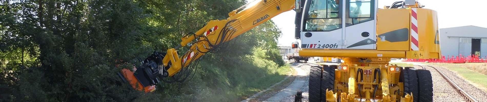 Colmar T2400fs road-rail excavator