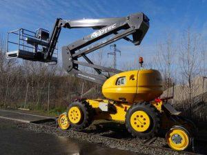 SkyRailer elevated-work-platform road rail vehicle