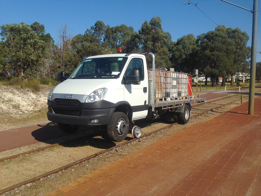 Iveco Daily 4x2 road-rail vehicle