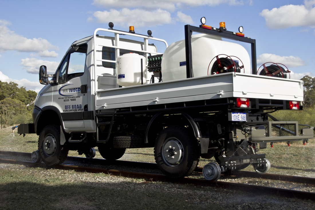 Iveco Daily 4x4 road-rail hyrail vehicle