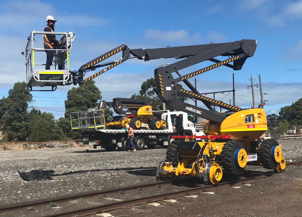 Hi-Rail EWP